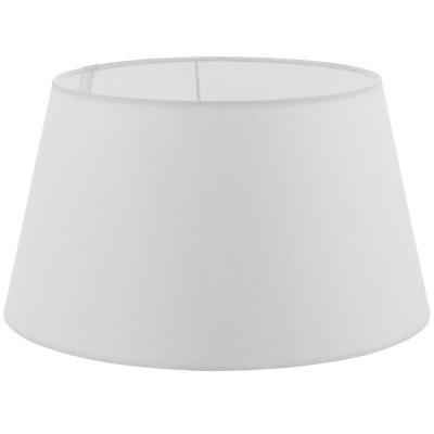 Eglo VINTAGE 49654 АбажурАбажуры<br>Абажур 1+1VINTAGE, 1х60W(E27), ?400, H220, текстиль, лен, белый применяется преимущественно в домашнем освещении с использованием стандартных выключателей и переключателей для сетей 220V.<br><br>Тип цоколя: E27<br>Количество ламп: 1<br>Диаметр, мм мм: 400<br>Высота, мм: 220<br>MAX мощность ламп, Вт: 60