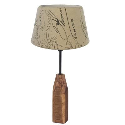 Eglo RINSEY 49665 Настольная лампаДеревянные<br>Настольная лампа RINSEY, 1х40W(E14), ?250, H490, дерево, сталь, натур./ткань с надписями, бел., корич. применяется преимущественно в домашнем освещении с использованием стандартных выключателей и переключателей для сетей 220V.<br><br>Тип цоколя: E14<br>Цвет арматуры: деревянный<br>Количество ламп: 1<br>Диаметр, мм мм: 250<br>Высота, мм: 490<br>MAX мощность ламп, Вт: 40