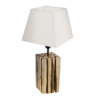 Eglo RIBADEO 49669 Настольная лампаДеревянные<br>Настольная лампа RIBADEO, 1х60W(E27), 250х250, H455, дерево, корич./текстиль, кремовый применяется преимущественно в домашнем освещении с использованием стандартных выключателей и переключателей для сетей 220V.<br><br>Тип цоколя: E27<br>Количество ламп: 1<br>Ширина, мм: 250<br>MAX мощность ламп, Вт: 60<br>Длина, мм: 250<br>Высота, мм: 455<br>Цвет арматуры: коричневый
