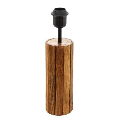 Eglo THORNHILL 49696 Основа для торшеранастольные лампы из дерева<br>Настольная лампа – это не просто источник дополнительного освещения, но и оригинальный элемент декора. Его можно установить в спальне, гостиной, кабинете и других комнатах. Интернет-магазин «Светодом» предлагает настольные лампы разных стилей по доступным ценам. Благодаря большому ассортименту Вы обязательно найдете в нашем каталоге именно ту модель, которую искали.   Настольная лампа Eglo 49696 – прекрасный вариант для завершения интерьера. Ее можно включить одновременно с люстрой для более яркого освещения или без нее для создания уютной атмосферы, настраивающей на отдых.   Купить настольную лампу Eglo 49696 Вы можете с помощью виртуальной «Корзины» или по контактным номерам, указанным на сайте.<br><br>Тип лампы: Накаливания / энергосбережения / светодиодная<br>Тип цоколя: E27<br>Количество ламп: 1<br>Диаметр, мм мм: 85<br>Высота, мм: 350<br>MAX мощность ламп, Вт: 60