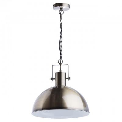Светильник Regenbogen life 497014301Одиночные<br><br><br>Тип лампы: Накаливания / энергосбережения / светодиодная<br>Тип цоколя: E27<br>MAX мощность ламп, Вт: 40<br>Диаметр, мм мм: 420<br>Высота, мм: 350 - 850