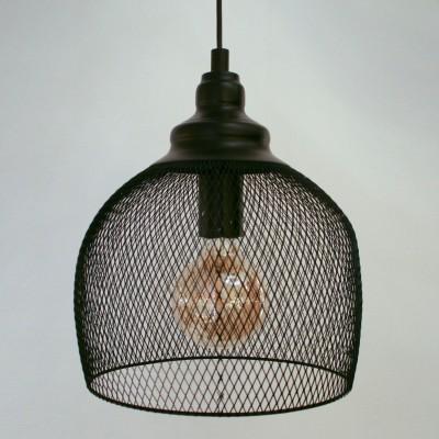 Eglo STRAITON 49736 Подвесной светильникОдиночные<br><br><br>S освещ. до, м2: 3<br>Тип лампы: Накаливания / энергосбережения / светодиодная<br>Тип цоколя: E27<br>Количество ламп: 1<br>MAX мощность ламп, Вт: 60<br>Диаметр, мм мм: 280<br>Высота, мм: 1100