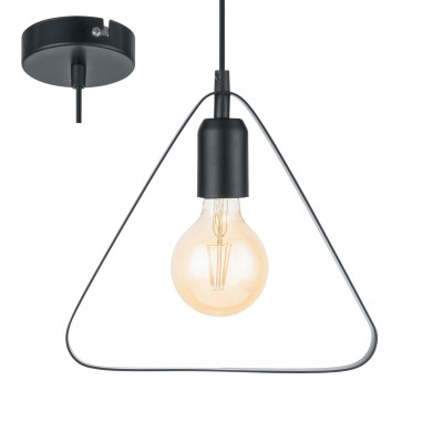 Eglo BEDINGTON 49774 Подвесной светильникодиночные подвесные светильники<br><br><br>S освещ. до, м2: 3<br>Количество ламп: 1<br>MAX мощность ламп, Вт: 60