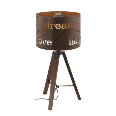 Eglo COLDINGHAM 49792 Настольная лампаМорской стиль<br><br><br>Тип лампы: Накаливания / энергосбережения / светодиодная<br>Тип цоколя: E27<br>Количество ламп: 1<br>Диаметр, мм мм: 320<br>Высота, мм: 670<br>MAX мощность ламп, Вт: 60