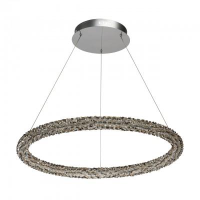 Светильник CHIARO 498014101Подвесные<br><br><br>S освещ. до, м2: 32<br>Цветовая t, К: 4000<br>Тип лампы: LED-светодиодная<br>Тип цоколя: LED<br>Количество ламп: 1<br>Диаметр, мм мм: 750<br>Высота полная, мм: 1500<br>Высота, мм: 100<br>Общая мощность, Вт: 80