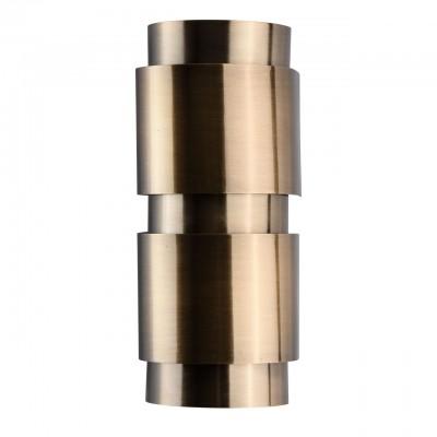 Светильник Regenbogen life 498023302Модерн<br><br><br>Тип лампы: Накаливания / энергосбережения / светодиодная<br>Тип цоколя: E14<br>Количество ламп: 2<br>Ширина, мм: 120<br>MAX мощность ламп, Вт: 40<br>Длина, мм: 300<br>Высота, мм: 110<br>Цвет арматуры: бронзовый