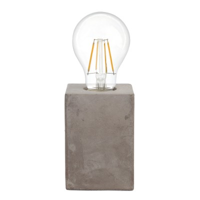 Eglo PRESTWICK 49812 Настольная лампаСовременные<br><br><br>Тип лампы: Накаливания / энергосбережения / светодиодная<br>Тип цоколя: E27<br>Количество ламп: 1<br>Ширина, мм: 90<br>Длина, мм: 90<br>Высота, мм: 130<br>MAX мощность ламп, Вт: 60