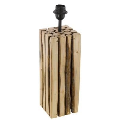 Eglo RIBADEO 49831 Основа для настольной лампыДеревянные<br>Основа для настольной лампы RIBADEO,  1x60W (E27), 120х125, H470, дерево, коричневый  применяется преимущественно в домашнем освещении с использованием стандартных выключателей и переключателей для сетей 220V.<br><br>Тип цоколя: E27<br>Цвет арматуры: коричневый<br>Количество ламп: 1<br>Ширина, мм: 125<br>Длина, мм: 120<br>Высота, мм: 470<br>MAX мощность ламп, Вт: 60
