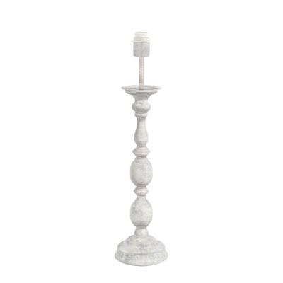 Eglo LARACHE 49946 Основа для настольной лампыКлассические настольные лампы<br><br><br>Тип лампы: Накаливания / энергосбережения / светодиодная<br>Тип цоколя: E27<br>Количество ламп: 1<br>Диаметр, мм мм: 155<br>Высота, мм: 640<br>MAX мощность ламп, Вт: 60