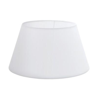 Eglo VINTAGE 49956 АбажурАбажуры<br>Абажур 1+1VINTAGE, Е14;Е27; ?300, Н165, текстиль, белый применяется преимущественно в домашнем освещении с использованием стандартных выключателей и переключателей для сетей 220V.<br><br>Диаметр, мм мм: 300<br>Высота, мм: 165