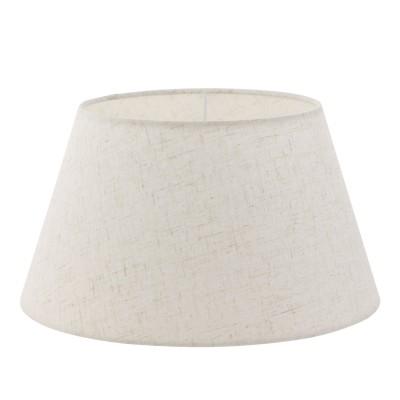 Eglo VINTAGE 49969 АбажурАбажуры<br>Абажур 1+1VINTAGE, Е14;Е27; ?350, Н190, текстиль,  кремовый применяется преимущественно в домашнем освещении с использованием стандартных выключателей и переключателей для сетей 220V.<br><br>Тип товара: Абажур<br>Диаметр, мм мм: 350<br>Высота, мм: 190