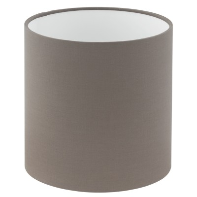 Eglo VINTAGE 49976 АбажурАбажуры<br>Абажур 1+1VINTAGE, Е14;Е27; ?180, Н180, текстиль, лен, антрацит-коричневый применяется преимущественно в домашнем освещении с использованием стандартных выключателей и переключателей для сетей 220V.<br><br>Диаметр, мм мм: 180<br>Высота, мм: 180