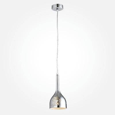 Евросвет 50035/1 хромОдиночные<br><br><br>S освещ. до, м2: 2<br>Тип лампы: Накаливания / энергосбережения / светодиодная<br>Тип цоколя: E14<br>Количество ламп: 1<br>MAX мощность ламп, Вт: 40<br>Диаметр, мм мм: 110<br>Высота, мм: 800