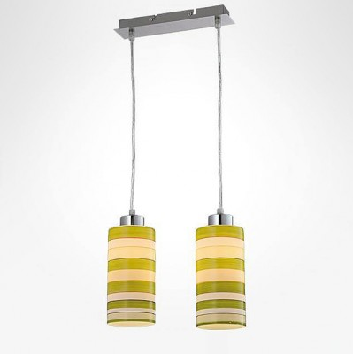 Евросвет 50044/2 хромподвесные светильники на 2 лампы<br><br><br>S освещ. до, м2: 6<br>Тип лампы: Накаливания / энергосбережения / светодиодная<br>Тип цоколя: E27<br>Количество ламп: 2<br>Ширина, мм: 100<br>Длина, мм: 280<br>Высота, мм: 800<br>MAX мощность ламп, Вт: 60