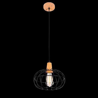 Светильник Евросвет 50076/1 светлое деревоПодвесные<br>Компания «Светодом» предлагает широкий ассортимент люстр от известных производителей. Представленные в нашем каталоге товары выполнены из современных материалов и обладают отличным качеством. Благодаря широкому ассортименту Вы сможете найти у нас люстру под любой интерьер. Мы предлагаем как классические варианты, так и современные модели, отличающиеся лаконичностью и простотой форм.  Стильная люстра Евросвет 50076/1 станет украшением любого дома. Эта модель от известного производителя не оставит равнодушным ценителей красивых и оригинальных предметов интерьера. Люстра Евросвет 50076/1 обеспечит равномерное распределение света по всей комнате. При выборе обратите внимание на характеристики, позволяющие приобрести наиболее подходящую модель. Купить понравившуюся люстру по доступной цене Вы можете в интернет-магазине «Светодом».<br><br>Установка на натяжной потолок: Да<br>S освещ. до, м2: 3<br>Крепление: Планка<br>Тип лампы: Накаливания / энергосбережения / светодиодная<br>Тип цоколя: E27<br>Цвет арматуры: черный<br>Количество ламп: 1<br>Диаметр, мм мм: 260<br>Высота, мм: 1000<br>MAX мощность ламп, Вт: 60