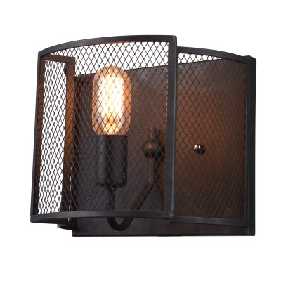 Светильник Divinare 5008/04 AP-1бра в стиле лофт<br><br><br>Тип цоколя: E27<br>Количество ламп: 1<br>MAX мощность ламп, Вт: 60W