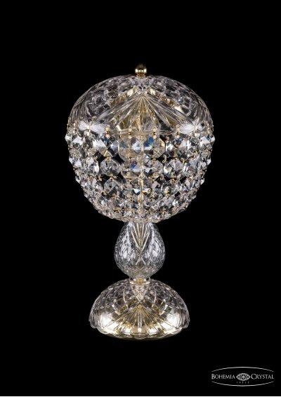 Настольная лампа Bohemia Ivele 5010/22-42/GХрустальные<br><br><br>Тип товара: Настольная лампа<br>Тип лампы: накаливания / энергосбережения / LED-светодиодная<br>Тип цоколя: Е14<br>Количество ламп: 4<br>Диаметр, мм мм: 220<br>Высота, мм: 420<br>Цвет арматуры: Золотой