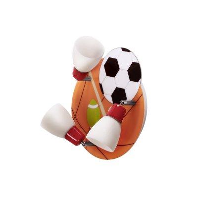 Люстра мячи Colosseo 50205/3C CalcioПотолочные<br>Компания «Светодом» предлагает широкий ассортимент люстр от известных производителей. Представленные в нашем каталоге товары выполнены из современных материалов и обладают отличным качеством. Благодаря широкому ассортименту Вы сможете найти у нас люстру под любой интерьер. Мы предлагаем как классические варианты, так и современные модели, отличающиеся лаконичностью и простотой форм. <br>Стильная люстра Colosseo 50205/3C станет украшением любого дома. Эта модель от известного производителя не оставит равнодушным ценителей красивых и оригинальных предметов интерьера. Люстра Colosseo 50205/3C обеспечит равномерное распределение света по всей комнате. При выборе обратите внимание на характеристики, позволяющие приобрести наиболее подходящую модель. <br>Купить понравившуюся люстру по доступной цене Вы можете в интернет-магазине «Светодом».<br><br>Установка на натяжной потолок: Да<br>S освещ. до, м2: 8<br>Крепление: Планка<br>Тип лампы: накаливания / энергосбережения / LED-светодиодная<br>Тип цоколя: E14<br>Количество ламп: 3<br>Ширина, мм: 280<br>MAX мощность ламп, Вт: 40<br>Длина, мм: 320<br>Высота, мм: 200<br>Цвет арматуры: серебристый