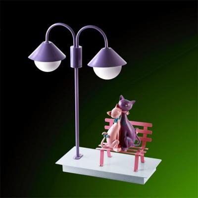 Детский светильник Colosseo 50207/2TДля детской<br><br><br>S освещ. до, м2: до 3<br>Тип товара: настольная лампа<br>Скидка, %: 10<br>Тип лампы: галогенная<br>Тип цоколя: G9<br>Количество ламп: 2<br>Ширина, мм: 420<br>MAX мощность ламп, Вт: 25W<br>Высота, мм: 370