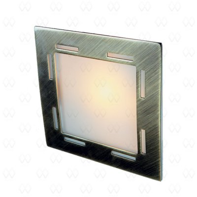 Светильник De markt 507020601 КредоКвадратные<br>Настенно-потолочные светильники – это универсальные осветительные варианты, которые подходят для вертикального и горизонтального монтажа. В интернет-магазине «Светодом» Вы можете приобрести подобные модели по выгодной стоимости. В нашем каталоге представлены как бюджетные варианты, так и эксклюзивные изделия от производителей, которые уже давно заслужили доверие дизайнеров и простых покупателей.  Настенно-потолочный светильник De Markt 507020601 станет прекрасным дополнением к основному освещению. Благодаря качественному исполнению и применению современных технологий при производстве эта модель будет радовать Вас своим привлекательным внешним видом долгое время.  Приобрести настенно-потолочный светильник De Markt 507020601 можно, находясь в любой точке России.<br><br>S освещ. до, м2: 3<br>Тип лампы: галогенная / LED-светодиодная<br>Тип цоколя: G9<br>Количество ламп: 1<br>Ширина, мм: 130<br>MAX мощность ламп, Вт: 40<br>Длина, мм: 130<br>Высота, мм: 60<br>Цвет арматуры: бронзовый