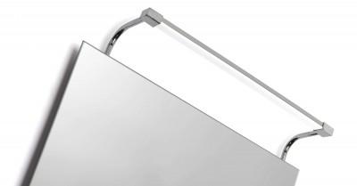 Настенный светильник бра Mantra 5086 SISLEYсветильники для картин<br><br><br>Цветовая t, К: 4000<br>Тип лампы: LED<br>Тип цоколя: LED<br>Цвет арматуры: серебристый хром<br>Ширина, мм: 107<br>Длина, мм: 362<br>Высота, мм: 111<br>MAX мощность ламп, Вт: 6