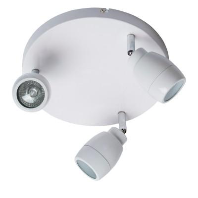 Светильник поворотный спот Mw light 509023503 АкваТройные<br>Описание модели 509023503: Особам, идущим в ногу со временем и отдающим предпочтение современным, функциональным светильникам, споты из коллекции «Аква», несомненно, придутся по душе. Металлическое основание окрашено в белый цвет. Привлекают высокие параметры освещенности модели, которые достигаются благодаря галогеновым  лампам, идущим в комплекте. Минималистичный, строгий дизайн, классический цвет светильника позволяют ему хорошо смотреться в любом интерьере, обставленном в соответствии с веяниями современной моды. Группа таких светильников будет идеальна  для создания зональной подсветки. Площадь освещения порядка 7 кв.м.<br><br>S освещ. до, м2: 7<br>Рекомендуемые колбы ламп: полусферическа с рефлектором<br>Цветовая t, К: 2800-3200 K<br>Тип лампы: галогеновая, светодиодная<br>Тип цоколя: GU10<br>Количество ламп: 3<br>Ширина, мм: 350<br>MAX мощность ламп, Вт: 28<br>Длина, мм: 350<br>Высота, мм: 160<br>Поверхность арматуры: матовый<br>Цвет арматуры: белый<br>Общая мощность, Вт: 84