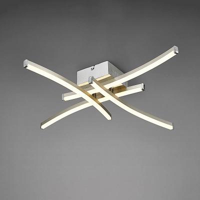 Потолочный светильник Mantra 5101 SURFлюстры хай тек потолочные<br>Компания «Светодом» предлагает широкий ассортимент люстр от известных производителей. Представленные в нашем каталоге товары выполнены из современных материалов и обладают отличным качеством. Благодаря широкому ассортименту Вы сможете найти у нас люстру под любой интерьер. Мы предлагаем как классические варианты, так и современные модели, отличающиеся лаконичностью и простотой форм. <br>Стильная люстра Mantra 5101 станет украшением любого дома. Эта модель от известного производителя не оставит равнодушным ценителей красивых и оригинальных предметов интерьера. Люстра Mantra 5101 обеспечит равномерное распределение света по всей комнате. При выборе обратите внимание на характеристики, позволяющие приобрести наиболее подходящую модель. <br>Купить понравившуюся люстру по доступной цене Вы можете в интернет-магазине «Светодом». Мы предлагаем доставку не только по Москве и Екатеринбурге, но и по всей России.<br><br>Установка на натяжной потолок: Да<br>S освещ. до, м2: 10<br>Цветовая t, К: 3000<br>Тип лампы: LED<br>Тип цоколя: LED<br>Цвет арматуры: серебристый никель<br>Количество ламп: 1<br>Ширина, мм: 570<br>Длина, мм: 570<br>Высота, мм: 95<br>MAX мощность ламп, Вт: 26