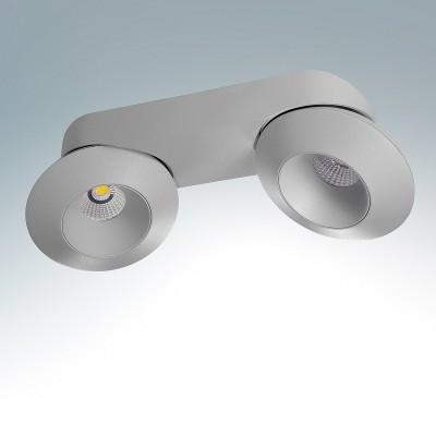 Lightstar ORBE 51229 СветильникДвойные<br><br><br>Тип товара: Светильник<br>Цветовая t, К: 4000К<br>Тип лампы: LED<br>Тип цоколя: LED<br>Количество ламп: 2<br>MAX мощность ламп, Вт: 32