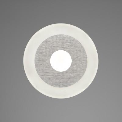 Настенный светильник бра Mantra 5123 SOLкруглые светильники<br>Настенно-потолочные светильники – это универсальные осветительные варианты, которые подходят для вертикального и горизонтального монтажа. В интернет-магазине «Светодом» Вы можете приобрести подобные модели по выгодной стоимости. В нашем каталоге представлены как бюджетные варианты, так и эксклюзивные изделия от производителей, которые уже давно заслужили доверие дизайнеров и простых покупателей.  Настенно-потолочный светильник Mantra 5123 станет прекрасным дополнением к основному освещению. Благодаря качественному исполнению и применению современных технологий при производстве эта модель будет радовать Вас своим привлекательным внешним видом долгое время. Приобрести настенно-потолочный светильник Mantra 5123 можно, находясь в любой точке России.<br><br>S освещ. до, м2: 2<br>Цветовая t, К: 4000<br>Тип лампы: LED<br>Цвет арматуры: серебристый никель<br>Диаметр, мм мм: 140<br>Высота, мм: 47<br>MAX мощность ламп, Вт: 4
