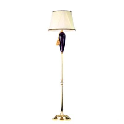 Светильник Divinare 5125/12 PN-1классические торшеры<br><br><br>Тип лампы: Накаливания / энергосбережения / светодиодная<br>Тип цоколя: E14<br>Количество ламп: 1<br>Диаметр, мм мм: 430<br>Высота, мм: 1700<br>Поверхность арматуры: блестящая<br>Оттенок (цвет): золотой/фиолетовый<br>MAX мощность ламп, Вт: 40