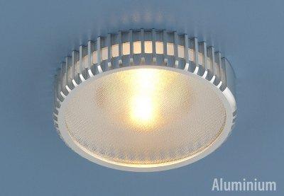 Светильник Электростандарт 5149 MR16 хромметаллические встраиваемые светильники<br>Светильник изготовлен из литого под давления алюминия. Лаконичный строгий дизайн позволяет светильнику вписаться в любой интерьер. Лампа в светильнике фиксируется выворачивающимся диском.<br> Лампа: MR16 G5.3 max 50 Вт Диаметр: ? 96 мм Высота внутренней части: ? 21 мм Высота внешней части: ? 22 мм Монтажное отверстие: ? 65 мм Гарантия: 2 года Корпус из алюминия