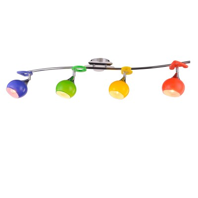 Люстра Colosseo 51603/4 NANNIС 4 лампами<br><br><br>Тип товара: споты<br>Тип лампы: накаливания / энергосбережения / LED-светодиодная<br>Тип цоколя: E14<br>Количество ламп: 4<br>Ширина, мм: 890<br>MAX мощность ламп, Вт: 60<br>Диаметр, мм мм: 890<br>Длина, мм: 160<br>Высота, мм: 200<br>Цвет арматуры: серебристый