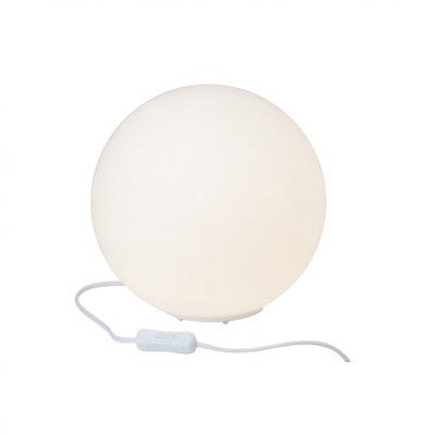 Лампа настольная Brilliant 51848/05 TimoВ виде шара<br>Зачастую мы ищем идеальное освещение для своего дома и уделяем этому достаточно много времени. Так, например, если нам нужен светильник с количеством ламп - 1 и цвет плафонов должен быть - белый, а материал плафонов только стекло! То нам, как вариант, подойдет модель - лампа настольная Brilliant 51848/05.<br><br>S освещ. до, м2: 4<br>Тип товара: Настольная лампа<br>Тип лампы: накал-я - энергосбер-я<br>Тип цоколя: E27<br>Количество ламп: 1<br>MAX мощность ламп, Вт: 60<br>Диаметр, мм мм: 250