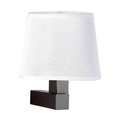 Настенный светильник бра Mantra 5235+5237 BAHIAсовременные бра модерн<br><br><br>Тип лампы: Накаливания / энергосбережения / светодиодная<br>Тип цоколя: E27<br>Цвет арматуры: коричневый<br>Количество ламп: 1<br>Ширина, мм: 200<br>Расстояние от стены, мм: 215<br>Высота, мм: 227<br>MAX мощность ламп, Вт: 13