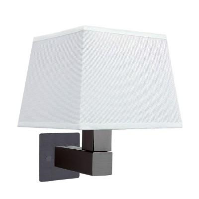 Настенный светильник бра Mantra 5235+5239+5171 BAHIAсовременные бра модерн<br><br><br>Тип лампы: Накаливания / энергосбережения / светодиодная<br>Тип цоколя: E27<br>Цвет арматуры: коричневый<br>Количество ламп: 1<br>Ширина, мм: 200<br>Высота, мм: 334<br>MAX мощность ламп, Вт: 40
