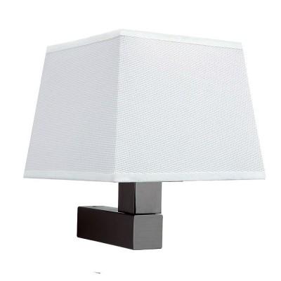 Настенный светильник бра Mantra 5235+5239 BAHIAсовременные бра модерн<br><br><br>Тип лампы: Накаливания / энергосбережения / светодиодная<br>Тип цоколя: E27<br>Цвет арматуры: коричневый<br>Количество ламп: 1<br>Ширина, мм: 200<br>Расстояние от стены, мм: 215<br>Высота, мм: 227<br>MAX мощность ламп, Вт: 13