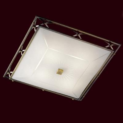 Светильник Сонекс 5261 бронза VillaКвадратные<br>Настенно потолочный светильник Сонекс (Sonex) 5261  подходит как для установки в вертикальном положении - на стены, так и для установки в горизонтальном - на потолок. Для установки настенно потолочных светильников на натяжной потолок необходимо использовать светодиодные лампы LED, которые экономнее ламп Ильича (накаливания) в 10 раз, выделяют мало тепла и не дадут расплавиться Вашему потолку.<br><br>S освещ. до, м2: 20<br>Тип лампы: накаливания / энергосбережения / LED-светодиодная<br>Тип цоколя: E27<br>Цвет арматуры: бронзовый<br>Количество ламп: 5<br>Ширина, мм: 520<br>Высота, мм: 520<br>MAX мощность ламп, Вт: 60