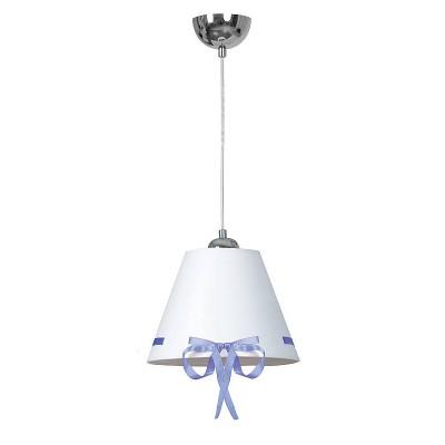 Emibig KOKARDA BLUE 530/2 потолочный светильникодиночные подвесные светильники<br><br><br>S освещ. до, м2: 3<br>Крепление: Потолочное<br>Тип цоколя: E27<br>Количество ламп: 1<br>Диаметр, мм мм: 350<br>Высота, мм: 1000<br>MAX мощность ламп, Вт: 60