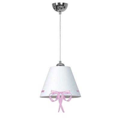 Emibig KOKARDA PINK 531/2 потолочный светильникОдиночные<br><br><br>S освещ. до, м2: 3<br>Крепление: Потолочное<br>Тип цоколя: E27<br>Количество ламп: 1<br>Диаметр, мм мм: 350<br>Высота, мм: 1000<br>MAX мощность ламп, Вт: 60