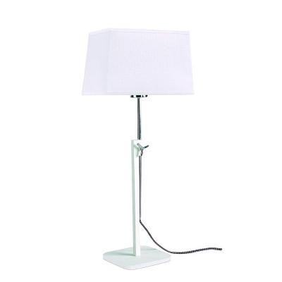 Настольная лампа Mantra 5320+5324 HABANAСовременные настольные лампы модерн<br>Настольная лампа – это не просто источник дополнительного освещения, но и оригинальный элемент декора. Его можно установить в спальне, гостиной, кабинете и других комнатах. Интернет-магазин «Светодом» предлагает настольные лампы разных стилей по доступным ценам. Благодаря большому ассортименту Вы обязательно найдете в нашем каталоге именно ту модель, которую искали.   Настольная лампа Mantra 5320+5324 – прекрасный вариант для завершения интерьера. Ее можно включить одновременно с люстрой для более яркого освещения или без нее для создания уютной атмосферы, настраивающей на отдых.   Купить настольную лампу Mantra 5320+5324 Вы можете с помощью виртуальной «Корзины» или по контактным номерам, указанным на сайте.<br><br>Тип лампы: Накаливания / энергосбережения / светодиодная<br>Тип цоколя: E27<br>Цвет арматуры: белый<br>Количество ламп: 1<br>Ширина, мм: 240<br>Длина, мм: 240<br>Высота, мм: 411 - 574<br>MAX мощность ламп, Вт: 40