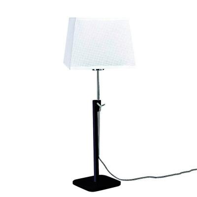 Настольная лампа Mantra 5321+5324 HABANAСовременные настольные лампы модерн<br>Настольная лампа – это не просто источник дополнительного освещения, но и оригинальный элемент декора. Его можно установить в спальне, гостиной, кабинете и других комнатах. Интернет-магазин «Светодом» предлагает настольные лампы разных стилей по доступным ценам. Благодаря большому ассортименту Вы обязательно найдете в нашем каталоге именно ту модель, которую искали.   Настольная лампа Mantra 5321+5324 – прекрасный вариант для завершения интерьера. Ее можно включить одновременно с люстрой для более яркого освещения или без нее для создания уютной атмосферы, настраивающей на отдых.   Купить настольную лампу Mantra 5321+5324 Вы можете с помощью виртуальной «Корзины» или по контактным номерам, указанным на сайте.<br><br>Тип лампы: Накаливания / энергосбережения / светодиодная<br>Тип цоколя: E27<br>Цвет арматуры: черный / серебристый хром<br>Количество ламп: 1<br>Ширина, мм: 240<br>Длина, мм: 240<br>Высота, мм: 411 - 574<br>MAX мощность ламп, Вт: 40