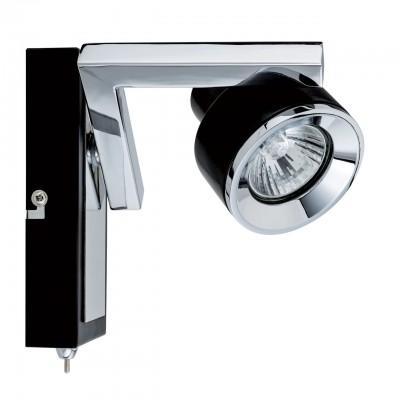 Светильник Mw-light 541020401Одиночные<br><br><br>Тип лампы: галогенная/LED<br>Тип цоколя: GU10<br>Цвет арматуры: серебристый<br>Количество ламп: 1<br>Ширина, мм: 70<br>Длина, мм: 130<br>Высота, мм: 135<br>MAX мощность ламп, Вт: 50