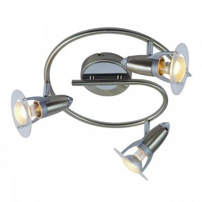 Светильник Globo 54120-3 Frances IТройные<br>Светильники-споты – это оригинальные изделия с современным дизайном. Они позволяют не ограничивать свою фантазию при выборе освещения для интерьера. Такие модели обеспечивают достаточно качественный свет. Благодаря компактным размерам Вы можете использовать несколько спотов для одного помещения.  Интернет-магазин «Светодом» предлагает необычный светильник-спот Globo 54120-3 по привлекательной цене. Эта модель станет отличным дополнением к люстре, выполненной в том же стиле. Перед оформлением заказа изучите характеристики изделия.  Купить светильник-спот Globo 54120-3 в нашем онлайн-магазине Вы можете либо с помощью формы на сайте, либо по указанным выше телефонам. Обратите внимание, что у нас склады не только в Москве и Екатеринбурге, но и других городах России.<br><br>S освещ. до, м2: 8<br>Тип лампы: накаливания / энергосбережения / LED-светодиодная<br>Тип цоколя: E14 R50<br>Цвет арматуры: серебристый<br>Количество ламп: 3<br>Ширина, мм: 175<br>Диаметр, мм мм: 300<br>Высота, мм: 175<br>MAX мощность ламп, Вт: 40