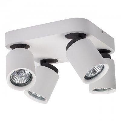 Светильник поворотный спот Mw light 545020704 АсторС 4 лампами<br>Описание модели 545020704: Добавлением изюминки для создания функционального пространства послужит использование спота для освещения. Споты из коллекции Астор станут прекрасным зональным и общим источником света и придадут определённый шарм своим внешним образом. Матовые металлические плафоны гармонично будут смотреться на фоне светлой отделки стен и потолка, или же контрастно подчёркнут всю глубину тёмных оттенков в отделке интерьера.<br><br>S освещ. до, м2: 13<br>Тип лампы: галогенная<br>Тип цоколя: GU10<br>Цвет арматуры: белый<br>Количество ламп: 4<br>Ширина, мм: 210<br>Длина, мм: 210<br>Высота, мм: 120<br>MAX мощность ламп, Вт: 50<br>Общая мощность, Вт: 200