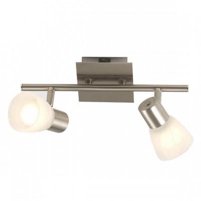 Светильник Globo 54530-2 ParryДвойные<br>Светильники-споты – это оригинальные изделия с современным дизайном. Они позволяют не ограничивать свою фантазию при выборе освещения для интерьера. Такие модели обеспечивают достаточно качественный свет. Благодаря компактным размерам Вы можете использовать несколько спотов для одного помещения.  Интернет-магазин «Светодом» предлагает необычный светильник-спот Globo 54530-2 по привлекательной цене. Эта модель станет отличным дополнением к люстре, выполненной в том же стиле. Перед оформлением заказа изучите характеристики изделия.  Купить светильник-спот Globo 54530-2 в нашем онлайн-магазине Вы можете либо с помощью формы на сайте, либо по указанным выше телефонам. Обратите внимание, что у нас склады не только в Москве и Екатеринбурге, но и других городах России.<br><br>S освещ. до, м2: 5<br>Тип лампы: накал-я - энергосбер-я<br>Тип цоколя: E14<br>Количество ламп: 2<br>Ширина, мм: 155<br>MAX мощность ламп, Вт: 40<br>Диаметр, мм мм: 300<br>Длина, мм: 300<br>Высота, мм: 150<br>Цвет арматуры: серый