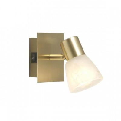 Светильник Globo 54540-1 RaiderОдиночные<br>Светильники-споты – это оригинальные изделия с современным дизайном. Они позволяют не ограничивать свою фантазию при выборе освещения для интерьера. Такие модели обеспечивают достаточно качественный свет. Благодаря компактным размерам Вы можете использовать несколько спотов для одного помещения.  Интернет-магазин «Светодом» предлагает необычный светильник-спот Globo 54540-1 по привлекательной цене. Эта модель станет отличным дополнением к люстре, выполненной в том же стиле. Перед оформлением заказа изучите характеристики изделия.  Купить светильник-спот Globo 54540-1 в нашем онлайн-магазине Вы можете либо с помощью формы на сайте, либо по указанным выше телефонам. Обратите внимание, что у нас склады не только в Москве и Екатеринбурге, но и других городах России.<br><br>S освещ. до, м2: 2<br>Тип лампы: накал-я - энергосбер-я<br>Тип цоколя: E14<br>Количество ламп: 1<br>Ширина, мм: 130<br>MAX мощность ламп, Вт: 40<br>Длина, мм: 100<br>Высота, мм: 100<br>Цвет арматуры: латунь