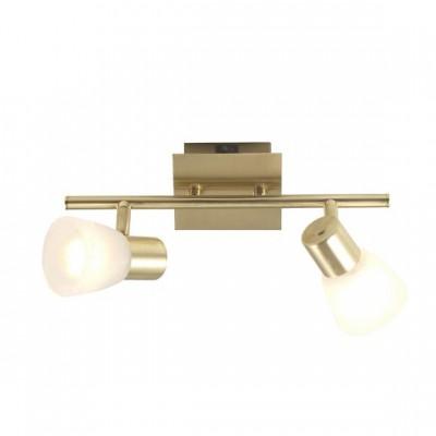 Светильник Globo 54540-2 RaiderДвойные<br>Светильники-споты – это оригинальные изделия с современным дизайном. Они позволяют не ограничивать свою фантазию при выборе освещения для интерьера. Такие модели обеспечивают достаточно качественный свет. Благодаря компактным размерам Вы можете использовать несколько спотов для одного помещения. <br>Интернет-магазин «Светодом» предлагает необычный светильник-спот Globo 54540-2 по привлекательной цене. Эта модель станет отличным дополнением к люстре, выполненной в том же стиле. Перед оформлением заказа изучите характеристики изделия. <br>Купить светильник-спот Globo 54540-2 в нашем онлайн-магазине Вы можете либо с помощью формы на сайте, либо по указанным выше телефонам. Обратите внимание, что у нас склады не только в Москве и Екатеринбурге, но и других городах России.<br><br>S освещ. до, м2: 5<br>Тип лампы: накал-я - энергосбер-я<br>Тип цоколя: E14<br>Количество ламп: 2<br>Ширина, мм: 135<br>MAX мощность ламп, Вт: 40<br>Длина, мм: 300<br>Высота, мм: 150<br>Цвет арматуры: латунь