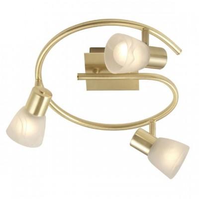 Люстра на 3 лампы Globo 54540-3 RaiderТройные<br>Светильники-споты – это оригинальные изделия с современным дизайном. Они позволяют не ограничивать свою фантазию при выборе освещения для интерьера. Такие модели обеспечивают достаточно качественный свет. Благодаря компактным размерам Вы можете использовать несколько спотов для одного помещения. <br>Интернет-магазин «Светодом» предлагает необычный светильник-спот Globo 54540-3 по привлекательной цене. Эта модель станет отличным дополнением к люстре, выполненной в том же стиле. Перед оформлением заказа изучите характеристики изделия. <br>Купить светильник-спот Globo 54540-3 в нашем онлайн-магазине Вы можете либо с помощью формы на сайте, либо по указанным выше телефонам. Обратите внимание, что у нас склады не только в Москве и Екатеринбурге, но и других городах России.<br><br>S освещ. до, м2: 8<br>Тип лампы: накаливания / энергосбережения / LED-светодиодная<br>Тип цоколя: E14<br>Цвет арматуры: латунь<br>Количество ламп: 3<br>Ширина, мм: 290<br>Диаметр, мм мм: 290<br>Высота, мм: 150<br>MAX мощность ламп, Вт: 40