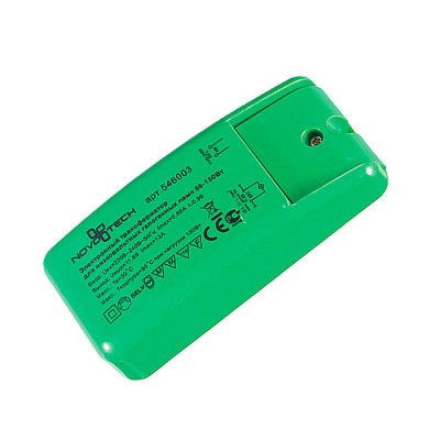 Novotech 546003 ТрансформаторТрансформаторы 220/12<br><br><br>MAX мощность ламп, Вт: 50-150W