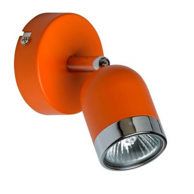 Светильник поворотный спот Mw light 546020901 ОрионОдиночные<br>Описание модели 546020901: Современные, выполненные в стиле минимализм светильники-споты из коллекции «Орион» подойдут для точечного освещения пространства. Основание сделано из металла в двух цветовых вариантах – спокойный классический белый, и яркий бодрящий оранжевый. Споты «Орион» подойдут для организации зонального освещения на кухне, в ванной, прихожей или детской комнатах, для создания особой, уютной атмосферы. Рекомендуемая площадь освещения – до 9 кв.м.<br><br>S освещ. до, м2: 2<br>Тип лампы: галогенная/LED<br>Тип цоколя: GU10<br>Цвет арматуры: серебристый<br>Количество ламп: 1<br>Ширина, мм: 80<br>Длина, мм: 120<br>Высота, мм: 140<br>MAX мощность ламп, Вт: 35<br>Общая мощность, Вт: 35